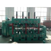 Buy cheap Carbon Steel Pipe Straightening And Cutting Machine 22 * 2 KW With 600 Mpa High Speed product