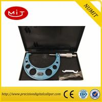 Buy cheap Adjust Digital Outside Micrometer 75-100mm with Interchangeable Anvils for Carbide measuring face and painted frame product