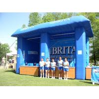 Blue Brita Inflatable Booth For Display , Advertising Inflatables Display Booth