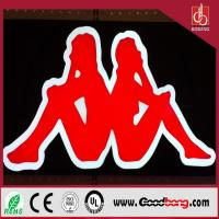 Buy cheap Hotsale chain-store high quality waterproof acrylic square thin signboard in huge size product