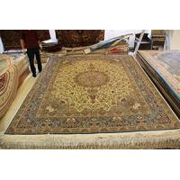 China Hand knotted persian silk carpets on sale