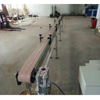 Buy cheap Grey Plastic Automated Conveyor Systems For Cosmetics And Skin Care Products from wholesalers