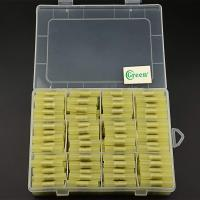 China Green Wire Butt Connectors AWG 12 - 10 HDPE Electrical Wire Crimp Insulated on sale