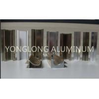 Buy cheap 1.2 Thickness Bright Aluminium Shutter Profile High Hardness Of Paint Film product