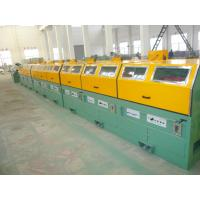 Buy cheap 0.7mm Multi Wire Drawing Machine , Stainless Steel Cable Drawing Machine With Touch Screen from wholesalers