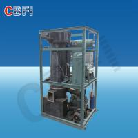 Buy cheap High Output Industrial Ice Maker Machine , Air / Water Cooled Ice Maker product