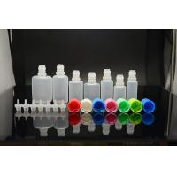 China 10ml - 30ml Child Proof Cap Plastic Dropper Bottles With Normal Tip For Medicine Packing on sale