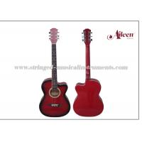 """Buy cheap All Linden Plywood Alternative Colorful Cutaway 38  """" Glossy or Matt finish Acoustic Guitar product"""