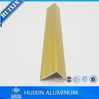 Buy cheap Angle Shape Aluminum Edge Protection and Transition Extrusion Profiles product