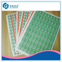 Buy cheap Anti-Counterfeiting A4 Self Adhesive Labels product