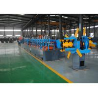 Buy cheap Low Noise Carbon Steel Erw Tube Mill Machine , High Frequency Welding product
