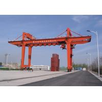 Buy cheap Heavy industries machinery rail mounted container gantry crane product