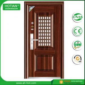 Buy cheap Latest design main gate steel security door wrought iron gate door design product