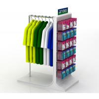 Buy cheap Powder Coating Sports Display Shelves Retail Sock Displays Rack OEM / ODM Welcome product