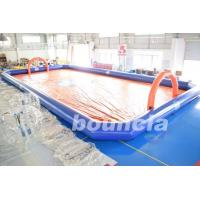 Quality Bubble Football Arena / Sport Arena For Inflatable Bumper Ball for sale