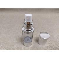 Buy cheap Vacuum Fancy Cosmetic Bottles Anti Bacterial Acrylic PP ABS Material product