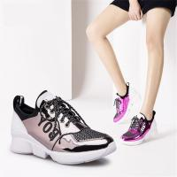 Buy cheap Women's Elevator Shoes Platform Running Sneakers Height Increasing 2.16'' product