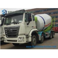 Buy cheap 8*4 coloful Meter Concrete Mixer Truck 16 Cubic SINO from wholesalers