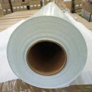 China Pure White Self Adhesive Wood Grain Vinyl Film , Adhesive Vinyl Paper Sheets on sale