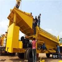Buy cheap Mobile Drum Rotary Trommel Screen Trommel Screen Of Gold Sand product