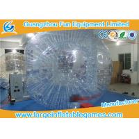 Buy cheap Adult Inflatable Giant Zorb Ball , Inflatable Hamster Ball For Humans product