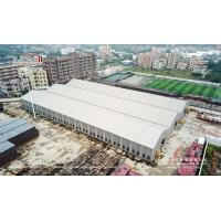 Buy cheap 20X100m Aluminum And PVC Tents Connect Together Used As Warehouse product