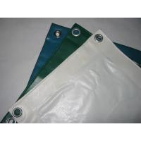 Buy cheap Anti - Mildew PVC Tarpaulin Fabric For Industry , Thick Heavy Duty Canvas Tarp  product