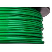 China  Green 0.05mm Extruded Abs 3d Printer Filament With High Melting Point  for sale