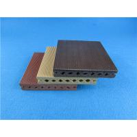 Buy cheap Round Hollow WPC Composite Decking Strong WPC Flooring for Exterior product