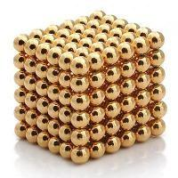 Buy cheap N35 sphere Neocube toys with gold plating product