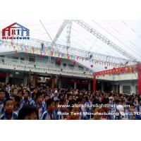 Buy cheap Square Spigot Lighting Truss System , Aluminum Roof Truss20 Years Life Span product
