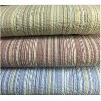 Buy cheap Colored Striped Linen / Cotton Seersucker Fabric 32*30 / 80*70 product