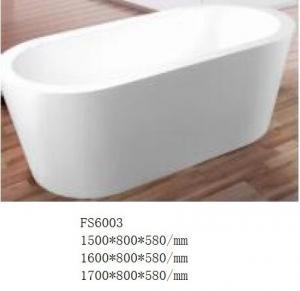 Buy cheap Light Weight Durable Bathroom Freestanding Tub / Modern Deep Soaking Bathtub product