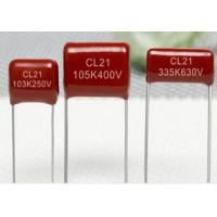 China CL21 Metallized Polyester Film Capacitor wholesale