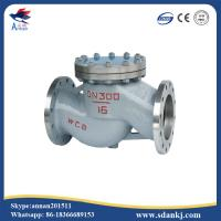 Buy cheap High quality flanged swing GB lift stainless steel water check valve with low price product