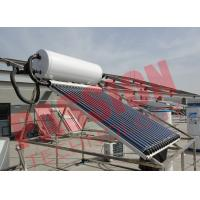 Buy cheap 6 Bar Heat Pipe Solar Water Heater Pressurized SUS304 Stainless Steel product