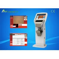 China White CE Approved Body Analyzer Machine Multi Language Software wholesale