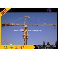 Buy cheap Hammerhead Fixed Tower Crane , Large Construction Cranes 30M Freestanding Height product