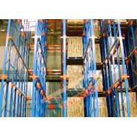 Channel Type Drive In Racking High Density Storage Racks For Frozen Food Freezers