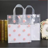 Buy cheap Recycled Die Cut Handle Bags , PE Clear Plastic Shopping Bags With Handles product
