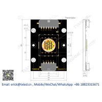 Buy cheap RGBW LED Module 400W Stage Moving-head LED Light Engine product