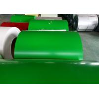 Buy cheap Green Prepainted Galvanized Steel Coil For Metal Building Purlins product