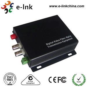 Buy cheap Vidéo analogue optique visuelle du convertisseur 2CH de fibre de caméra de télévision en circuit fermé/1CH RS485 vers l'arrière product