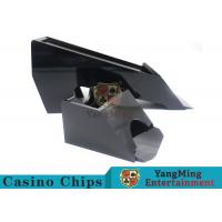 Buy cheap Black Color Gambling Dedicated Casino Card Shoe , One Deck Shoe For Poker Cards product