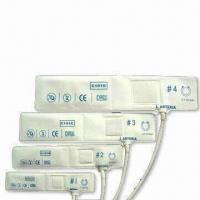 Buy cheap Nonwoven Fabric Blood Pressure Cuffs, Available in Various Sizes, Bladderless product