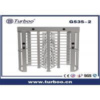 Buy cheap Outdoor Full Height Access Control Turnstile Gate With A Direction Indicator product