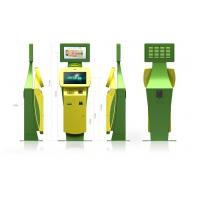 Buy cheap Touch Screen Ticketing, Card printing, Passport Scan Lobby Kiosk / Kiosks product