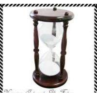 Buy cheap 30 minutes Wood  Frame, Glass Hour ,Sand Timer product