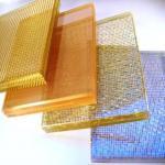 Buy cheap Aluminium Frame Art Laminated Glass Requirements Wall Textured PVB Long Lifespan product
