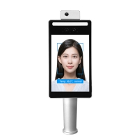 Buy cheap 15w IP55 TOF Camera Face Recognition Attendance Terminal product